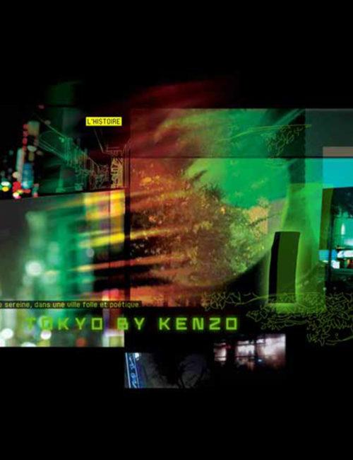 Page de présentation d'un produit Kenzo