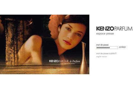 Entrée site Kenzo Presse